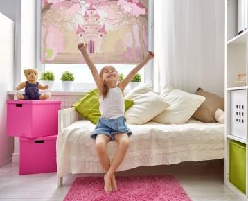 sunlux24 rollo basic mit fotodruck inkl pvc klemmtr ger motive m rchenschloss ebay. Black Bedroom Furniture Sets. Home Design Ideas