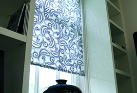 vielseitige rollo modelle mit gro er stoffauswahl sunlux24. Black Bedroom Furniture Sets. Home Design Ideas